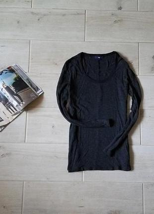 Легкий удлиненный свитер вискоза