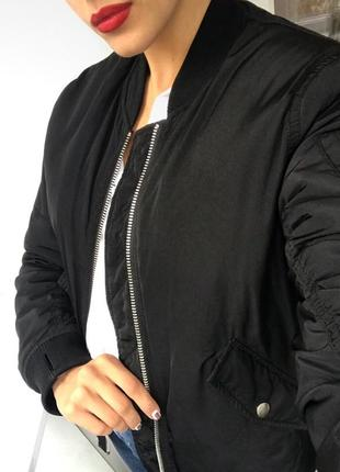 Куртка - бомбер bikbok на меху