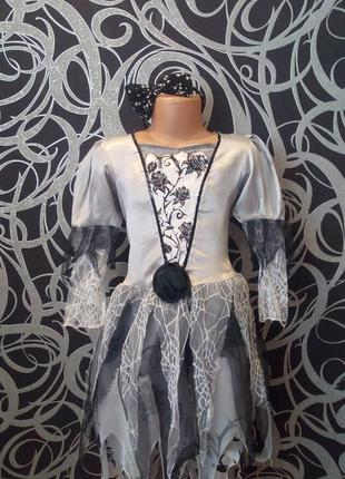 Карнавальное платье,ведьмочки,колдуньи,хеллоуин,7-8