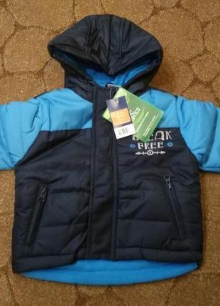 Распродажа демисезонная термокуртка размер 86-92