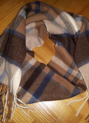 Alfredo pria, люксовый итальянский шарф, 100% шерсть@