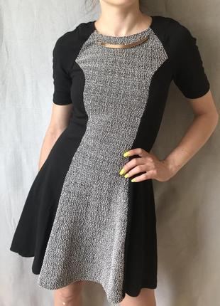 Акция 1+1=3! платье из плотной ткани от river island