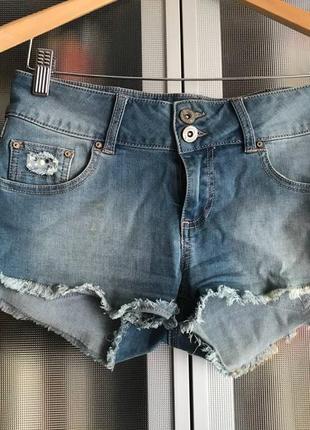 Мини шорты