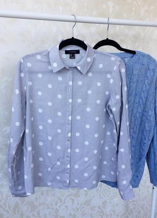 Стильная рубашка в горошек atmosphere