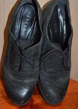 Стильные туфли броги 41 р., 26.5 см