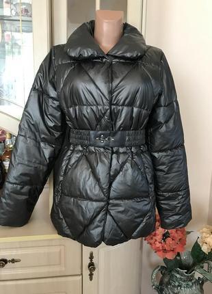 Супер стильная и тёплая куртка пуховик модного цвета 🌟🍁👍