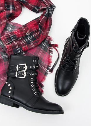 Ботинки на мешу на осень 25,5 см и 26,5 см