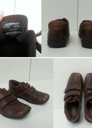 Next кожаные туфли школьные на липучках в очень хорошем состоянии, крепкие, кожа