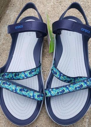 Босоножки-сандалии  swiftwater webbing от crocs w9