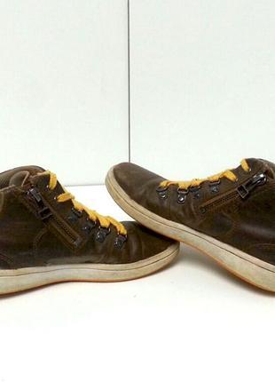 Clarks кожаные туфли мальчика 12f / 30 кожа школьные
