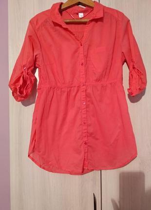 Рубашка-туника для беременных h&m
