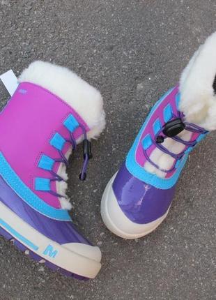 Зимние сапоги ботинки merrell. оригинал. разм.39