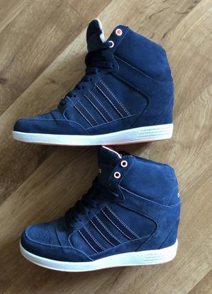 Сникерсы кроссовки кеды ботинки кроссовки на танкетке adidas оригинал
