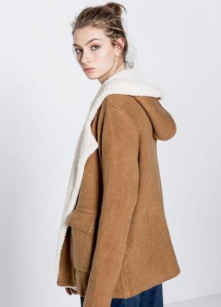 Трендовое пальто - кардиган pull&bear, свитер