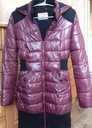 Стильна тепла курточка на зиму-осінь