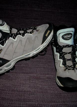 Ботинки meindl,замша,gore-tex,vibram,25,5 см