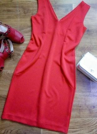 Элегантное красное платье от faberlic