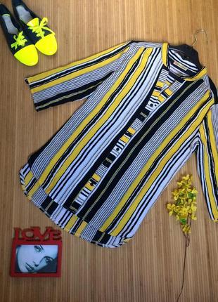 Креп-шифоновая блуза,размер xl