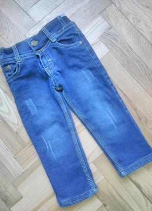 Утеплені джинси.