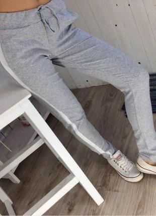 Спортивные штаны с лампасами😍штаны с полоской💕все размеры💣наложка
