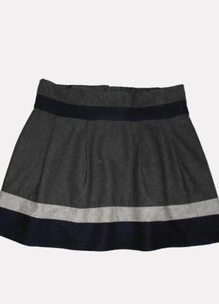 Теплая юбка, шерсть, размер 44-46 eur