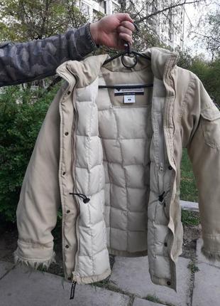 Зимняя теплая курточка columbia (размер s)