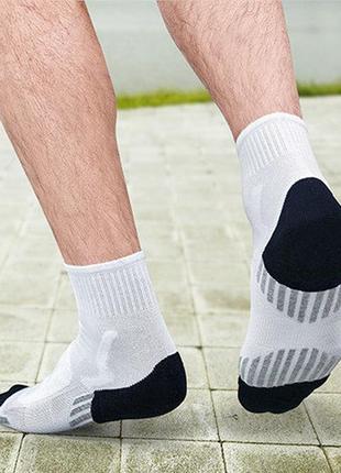 Функциональные спортивные носки с массажной стопой tcm tchibo германия, 43-46