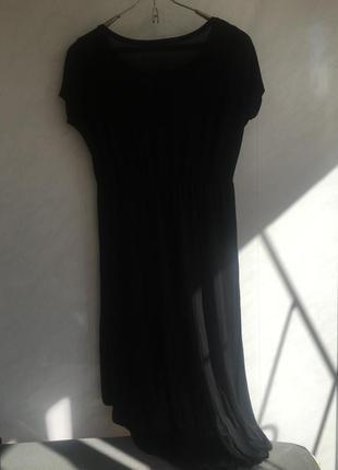 Платье чёрное gina tricot
