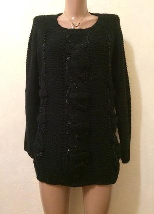 Очень теплый свитер 🖤