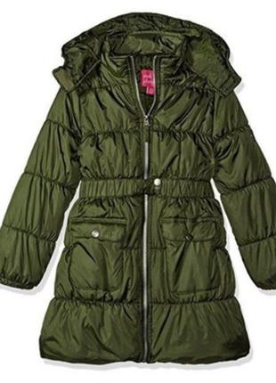 Пальто pink platinum сша) на 2-3 года длина 51см плечи 29см рукав35см