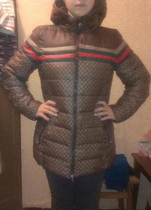 Зимняя куртка-холлофайбер
