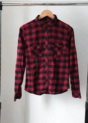 Актуальная клетчастая рубашка для тебя❤