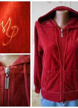 Mari philippe . брендовая спортивная кофта куртка с карманами олимпийка худи толстовка .