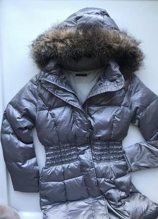 Новое пуховое пальто sisley!