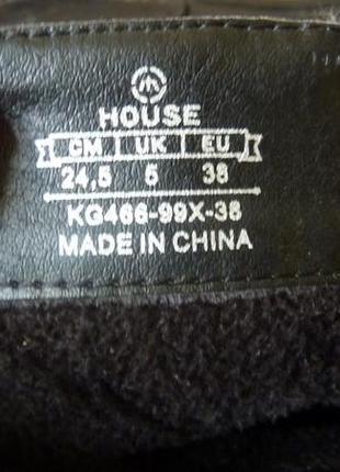 Ботинки на низком каблуке house4