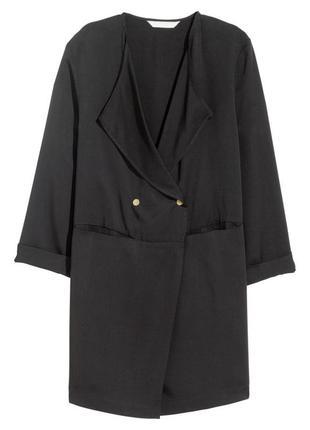 Короткое пальто из лиоцелла h&m