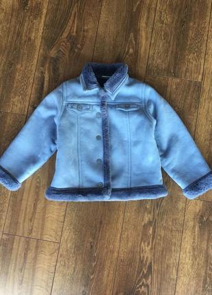 Куртка , дубленка next (маломерит)