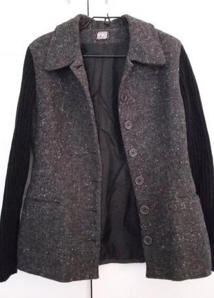 Пиджак жакет promod, шерсть