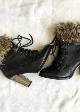 Осенние ботиночки на каблуках