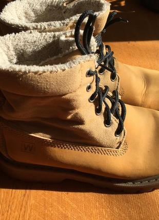 Ботинки под timberland