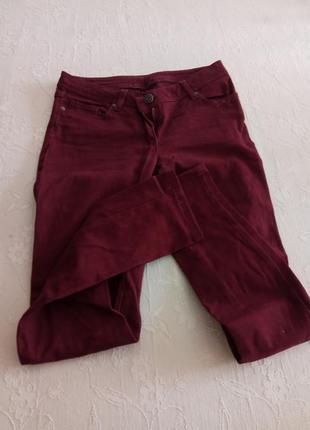 Продам штани кольору марсала