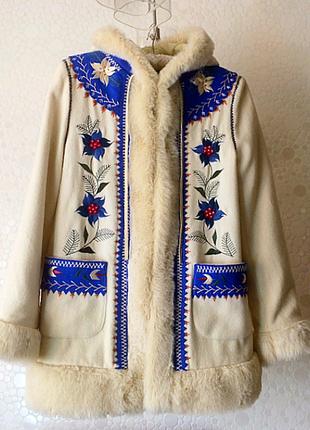 Шикарне пальто з капюшоном topshop,p.m(eur 40-38))
