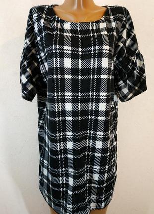 Стильное теплое платье-туника