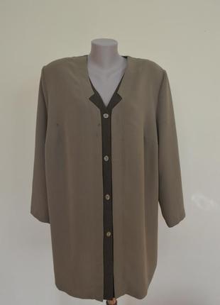 Немецкое качество интересная комбинированная блузочка