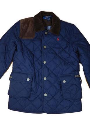 Детская стеганая курточка polo ralph lauren ральф оригинал 7