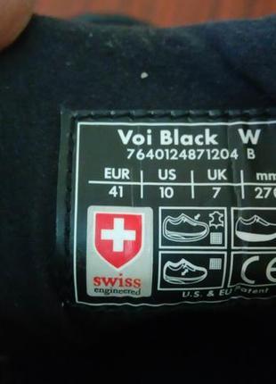 4a42781a ... Эффектные комбинированные черные кожаные кроссовки mbt швейцария 41 р.4  фото ...