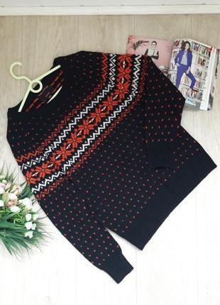 Телый свитер talitha paris м-л 15% шерсть