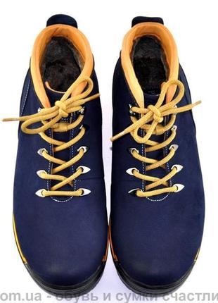 Хит продаж крутые кожаные зимние ботинки для мужчин