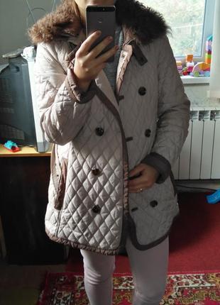 Демисизонная курточка, стеганное пальто