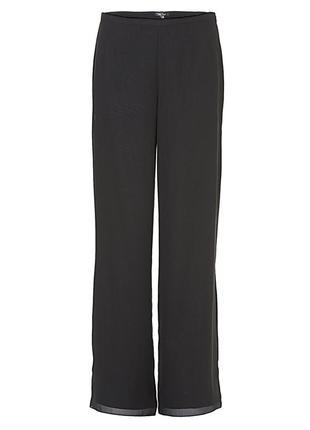 Черные брюки клеш от vera mont, размер м